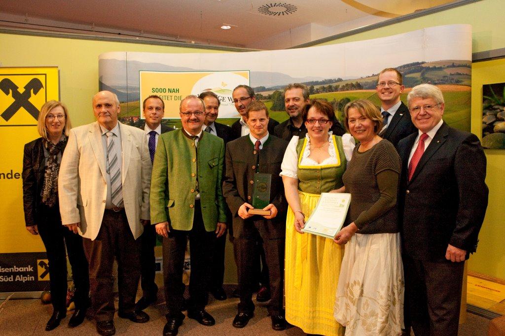 Verleihung des Bucklige Welt Wirtschaft-Zukunftspreises 2013